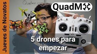 5 drones para empezar FPV 2018 - Español