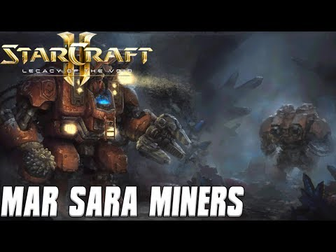 Mar Sara Miners - Drilling into the Overmind - Starcraft 2 Mod