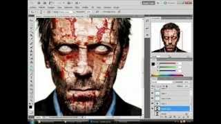 Efecto  - Zombie - Photoshop cs5 - Effect Zombie