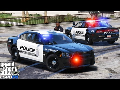 GTA 5 LSPDFR Police Mod 344 | Albuquerque Police DWI Enforcement Officer Shot At On A Traffic Stop