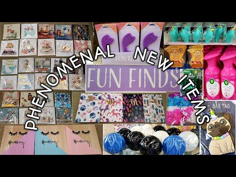 """Come With Me To A PHENOMENAL Dollar Tree 💕So Many FANTASTIC  Items/ New Section called """"Fun Finds"""""""