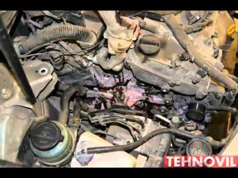 Toyota Camry 40 замена помпы охлаждения ДВС