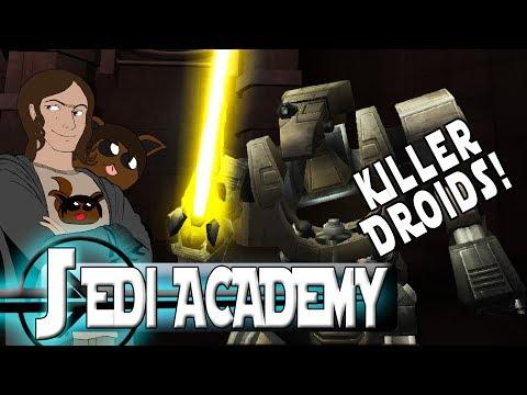 Jedi Academy - Saber Droid Survival!