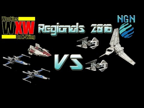 Star Wars X-Wing Miniatures | Maritime Regionals - Game 6: XXA vs Palpatine Aces
