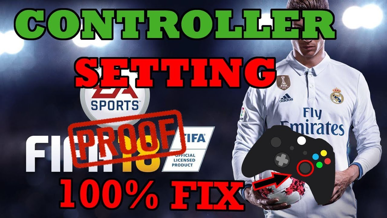 FIFA 18 - GAMEPAD/CONTROLLER FIX (RIGHT ANALOG FIXED)🎮🎮