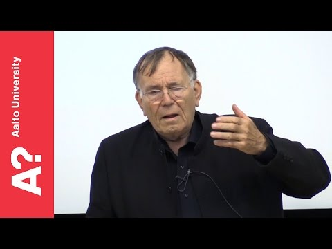 "Jan Gehl, architect: ""Livable Cities for the 21st Century"" - Aalto University 21.2.2017"
