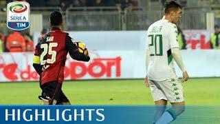 Video Gol Pertandingan Cagliari vs Sassuolo