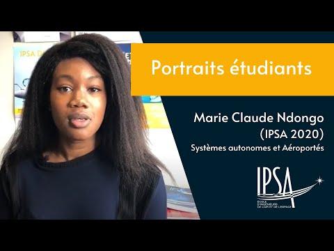 Portrait d'Étudiante - Marie Claude Ndongo