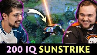 200 IQ Glyph Sunstrike — w33 RAPIER Invoker vs Noone
