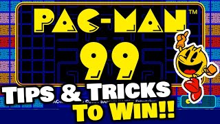 Tips & Tricks to WIN in PAC-MAN 99! (How to Play)