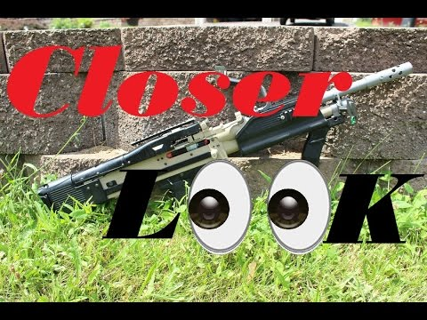 A Closer Look: Wolverine HPA M60 Airsoft LMG!