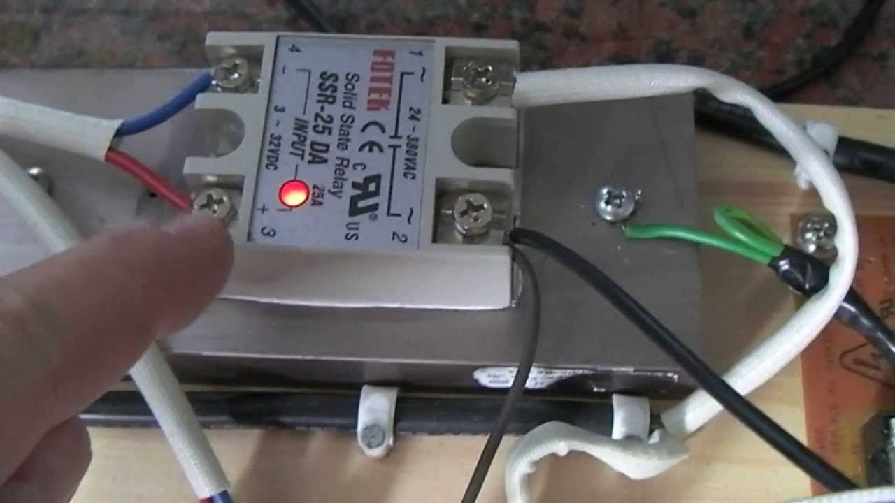 Video Response To Requests For The Modified Rex C100 Pre-heater Wiring Diagram