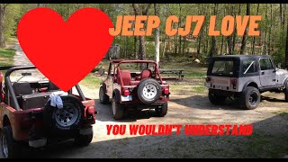 Jeep CJ7 Projects over the Years and Lets Take a Drive! #46