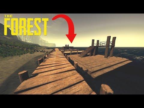 THE FOREST - CONSTRUCTION DU PORT POUR BATEAU ! EP20S01