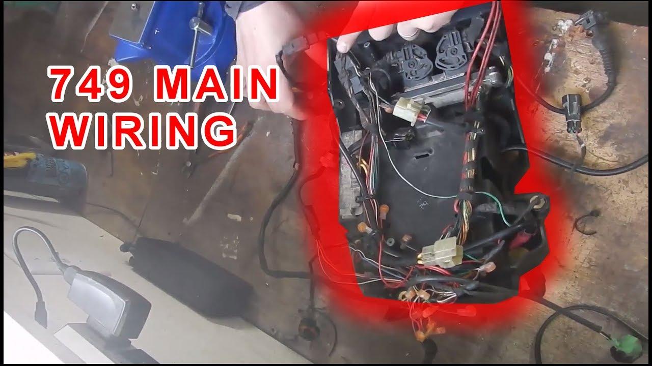 ducati 749 part 1 main wiring harness [ 1280 x 720 Pixel ]