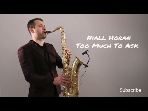 Niall Horan - Too Much To Ask [Saxophone Cover] by Juozas Kuraitis