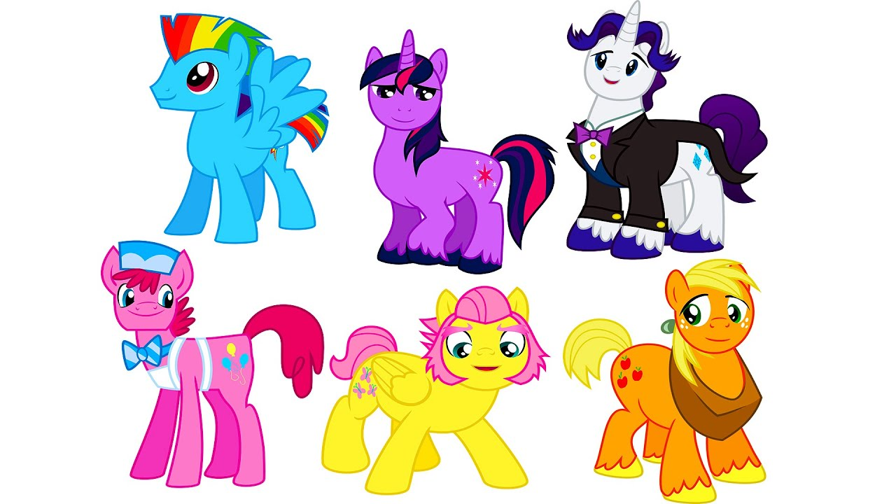 My Little Pony Transforms Girls Into Boys Gender Swap