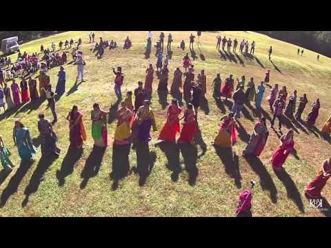 Bathukamma Celebrations 2015 TTGA   Bond Park North Carolina