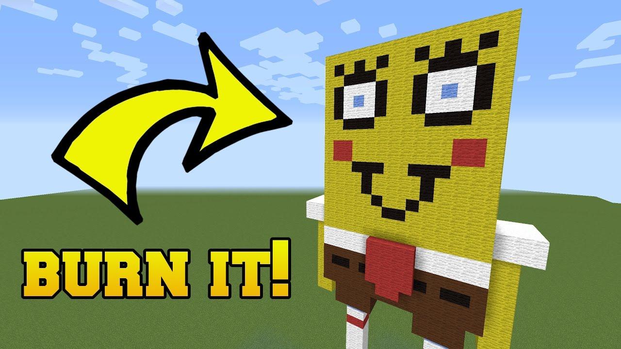 Naked Spongebob - Minecraft Structures Ep. 1 - YouTube