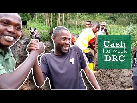 How our cash-for-work scheme is changing lives in the Democratic Republic of Congo