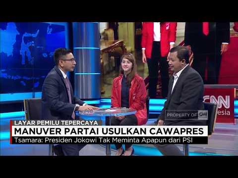 Pengamat: Mengusulkan Cawapres Bentuk Kegenitan Politik PSI