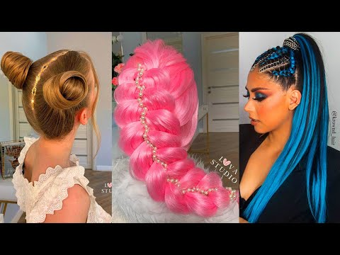 Amazing DIY Hairstyles Tutorial Compilation   Back To School Heatless Hairstyles 2020