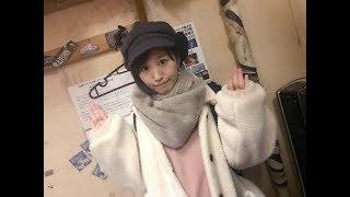 ソーシャルアイドルnotallの佐藤遥さんのカフェラテ噴水公園振り付け動...
