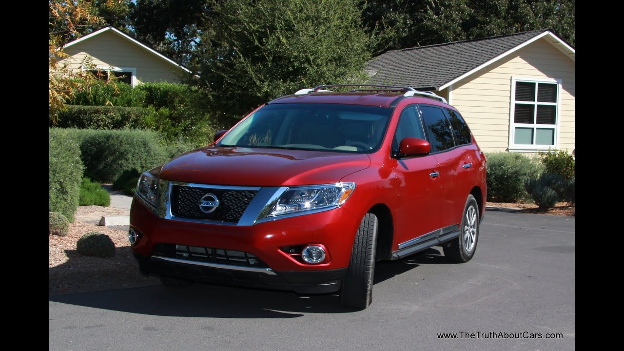 medium resolution of 2013 nissan pathfinder review and road test
