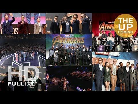Avengers Infinity War global tour highlights: LA, London, Tokyo, Seoul, Shanghai, Singapore, Mexico