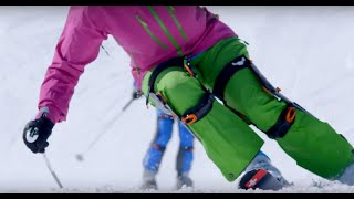 AGAINER Exoskeleton for Fun and Easy Skiing