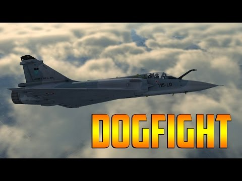 DCS Mirage 2000 - Dogfight