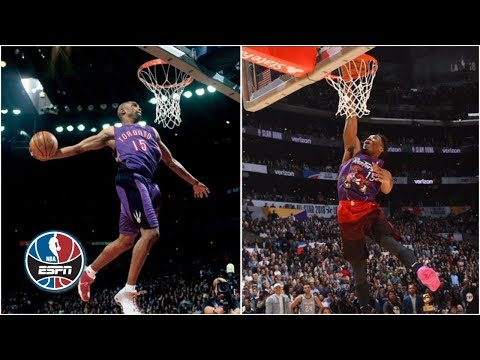 Donovan Mitchell channels Vince Carter for 2018 NBA All-Star Dunk Contest winning slam | ESPN