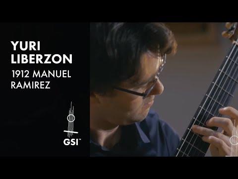 1912 Manuel Ramirez - Yuri Liberzon plays Piazzolla Tango Etude No. 6