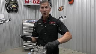 Mega Elan Modified snowmobile build #1 Cat 800 Engine tear down!