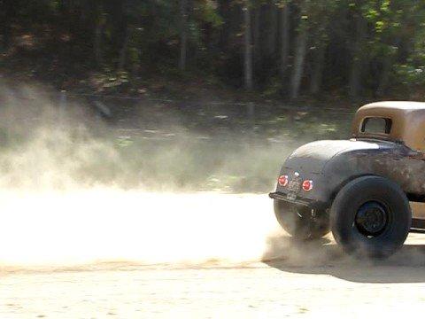 Tudor on the dirt track