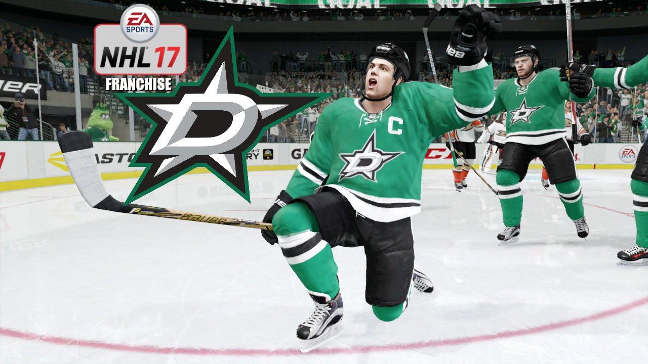 NHL 17 (Xbox One) - Dallas Stars Franchise Series EP2 ...Dallas Stars