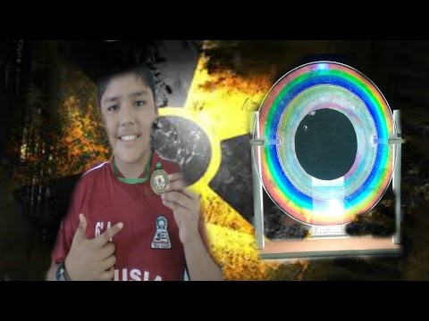 Tutorial-Cómo hacer un arcoiris casero con un CD o DVD (Experimentos)