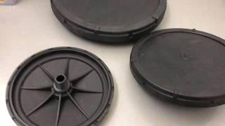Обзор Распылитель дисковый для пруда и УЗВ, HMD 20см 27см 34 см