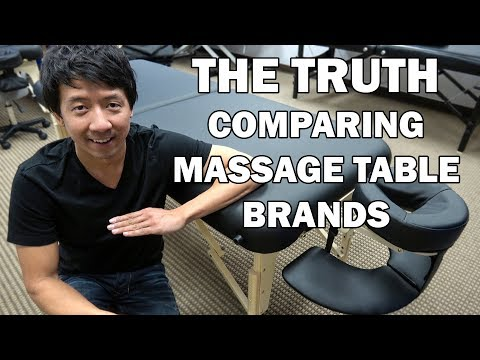 The TRUTH On Massage Table Brands | COMPARING BEFORE YOU BUY + GIVEAWAY!