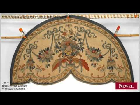 French Antique Valance/drape Victorian Textiles and Rugs