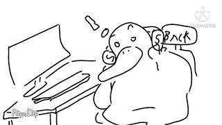 [유동컴퍼니] 금붕어 먹이주기