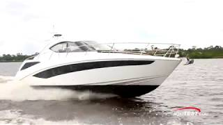 Galeon 405 HTS (2018-) Test Video - By BoatTEST.com