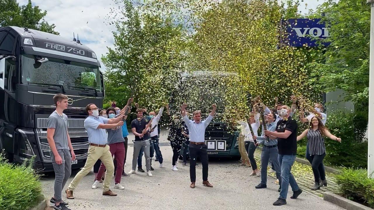 Volvo Trucks gewinnt drei Kategorien als beste Nutzfahrzeuge