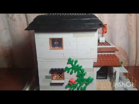 Обзор на лего самоделку: загородный дом