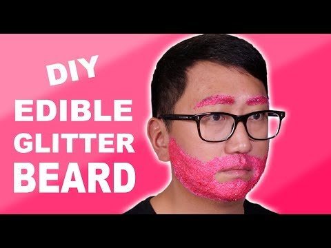 HOW TO MAKE EDIBLE SPARKLY GLITTER