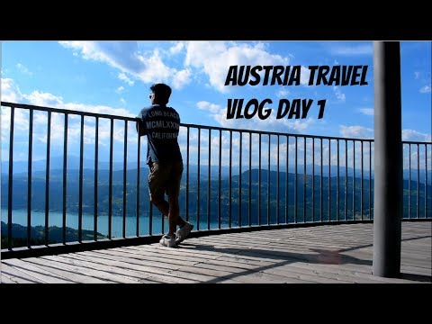 Austria Travel Vlog Day 1!