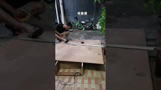 Cara membuat mini line array 8 inch