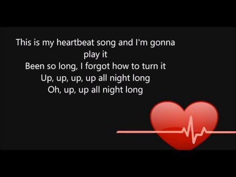 Heartbeat Song - Kelly Clarkson  (Lyrics)