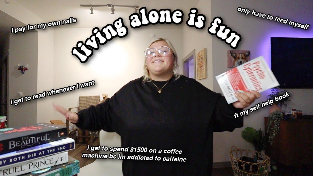 MY LIFE LIVING ALONE *very realistic lol*