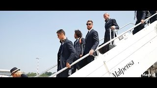 Real Madrid UCL final: Real Madrid have arrived in Milan